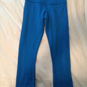 Blue Lululemon Leggings Size 2